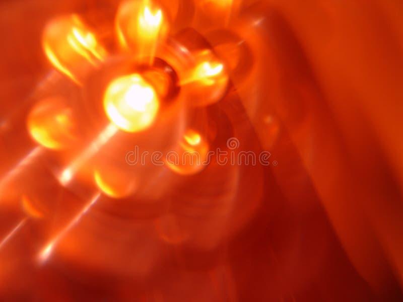 Cligner de l'oeil la lumière 2 photos libres de droits