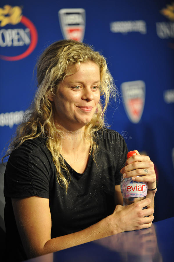 Clijsters aux USA ouvrent 2010 (23) images stock