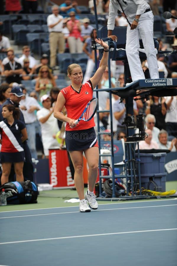 Clijsters kim aux USA ouvrent 2009 (62) photos libres de droits