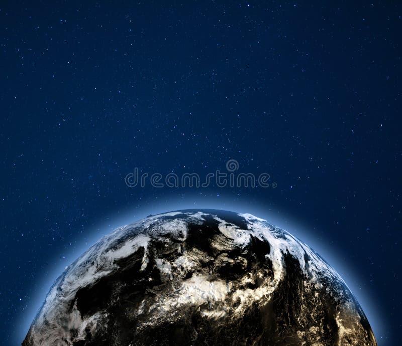 Clima da terra do planeta ilustração royalty free