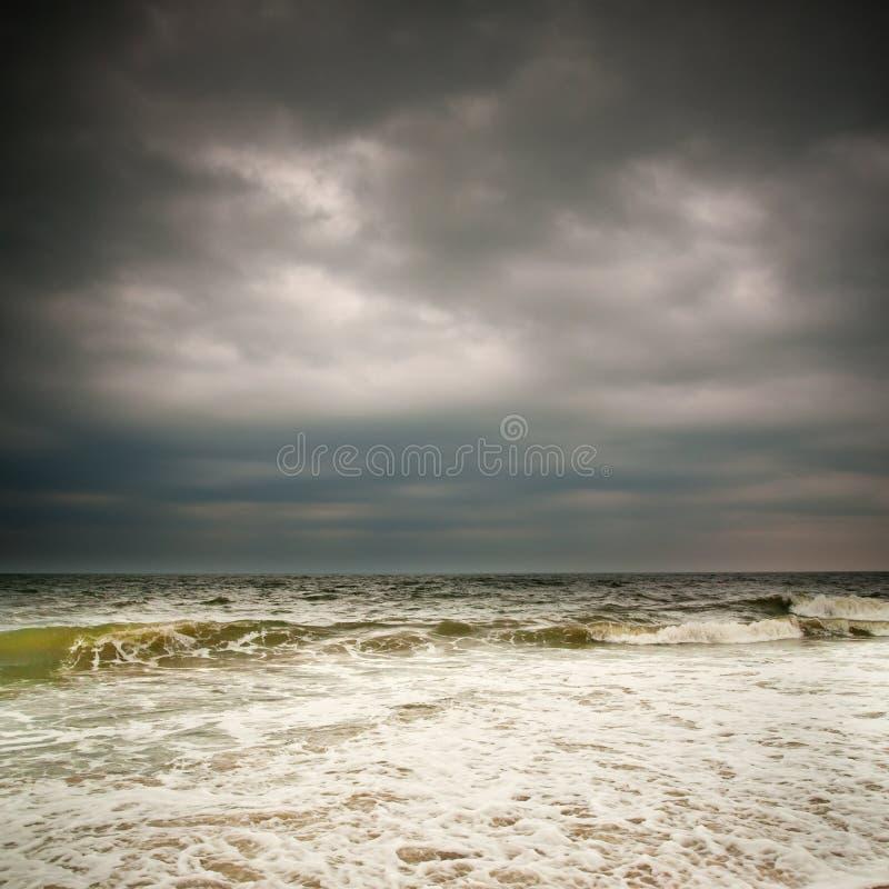 Clima de tempestade, Oceano Atlântico foto de stock