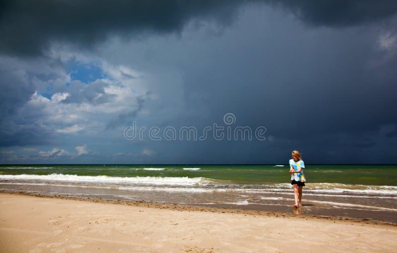 Clima tempestuoso imagen de archivo libre de regalías