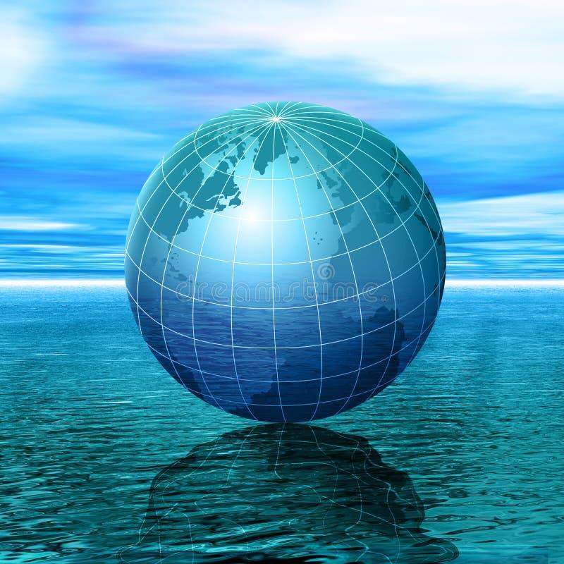 Download Climate Change stock illustration. Illustration of ocean - 2305751