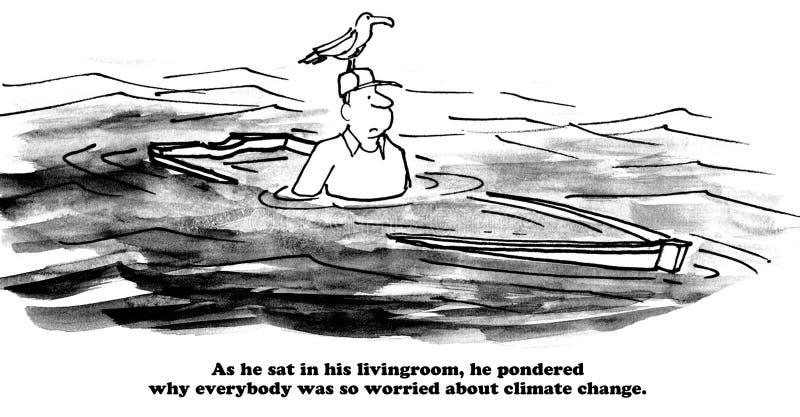 Climate Change stock illustration