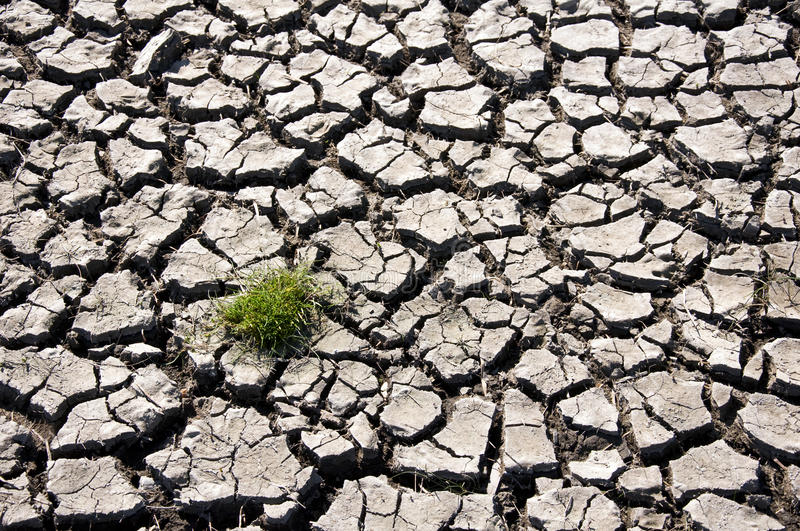 Climate change - dry land royalty free stock images