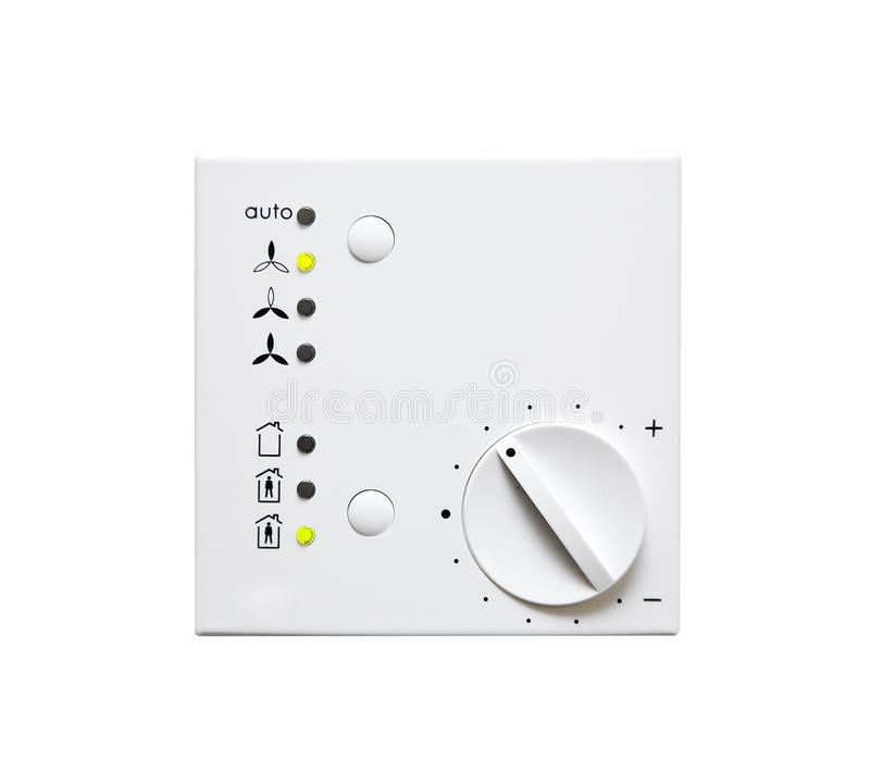 Climate Control Panel Royalty Free Stock Photos