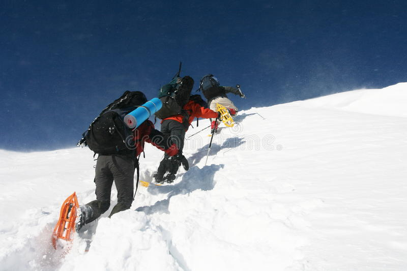 Download The climb stock image. Image of mountaineer, extreme - 10622261