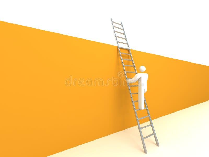 Download Climb ladder stock illustration. Image of explore, climbing - 11992164