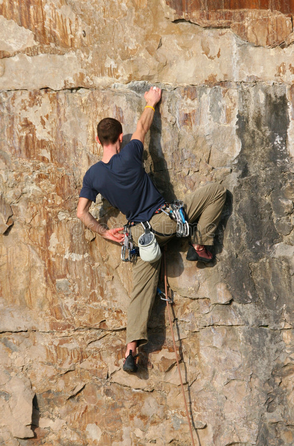 Download The Climber 1 stock photo. Image of mountain, exercise - 465366