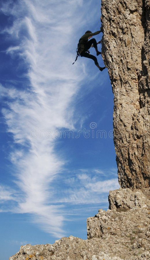 Download Climber stock photo. Image of acrobatic, climb, mountaineering - 1796908