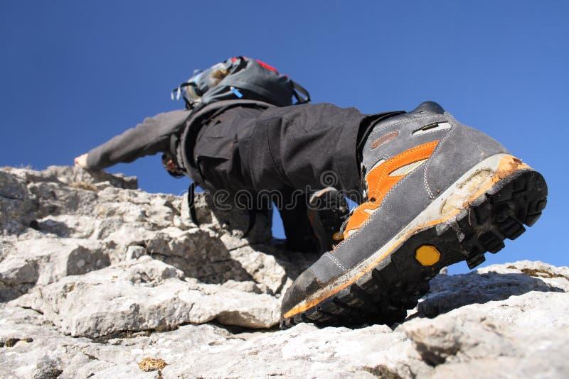 Climber stock photography