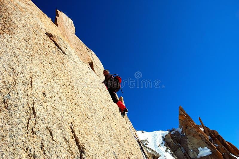 Download Climber stock image. Image of stone, climb, aiguille, climber - 2324605