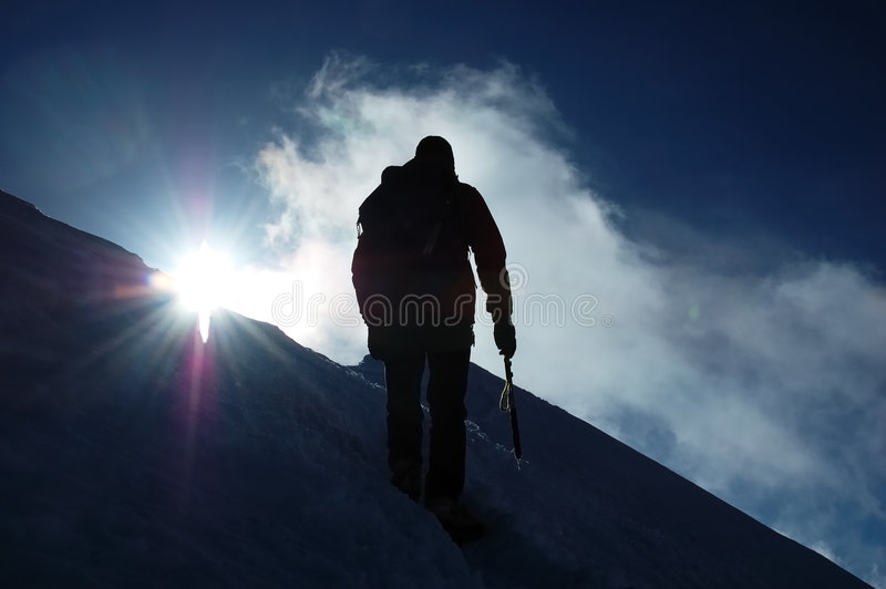 Download Climber stock photo. Image of mountaineer, climb, alps - 3065482