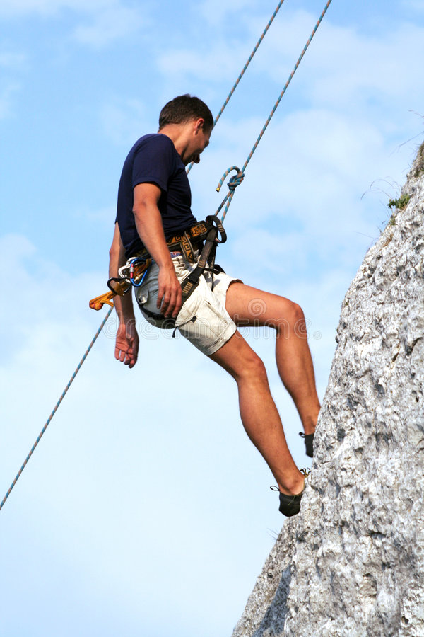 Free Climber Stock Photography - 3618602