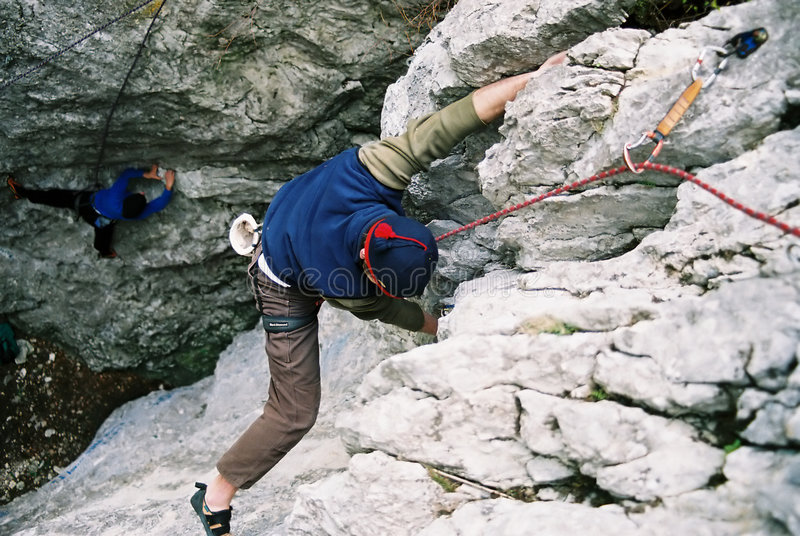 Download Climber stock image. Image of discovery, climber, active - 41651