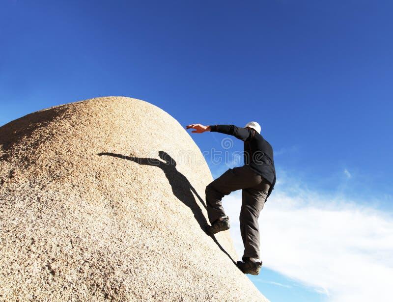 climber stock foto