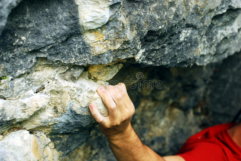 Download Climber's hand stock image. Image of climber, grip, strong - 20562783