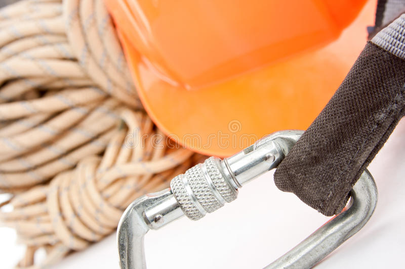 Download Climber's Ropes And Protective Wear Stock Photo - Image: 17894912