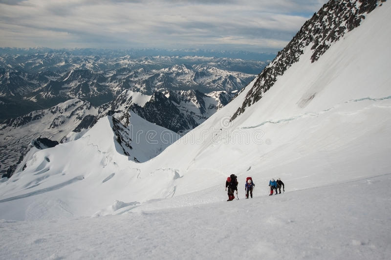 climbers royalty-vrije stock foto's