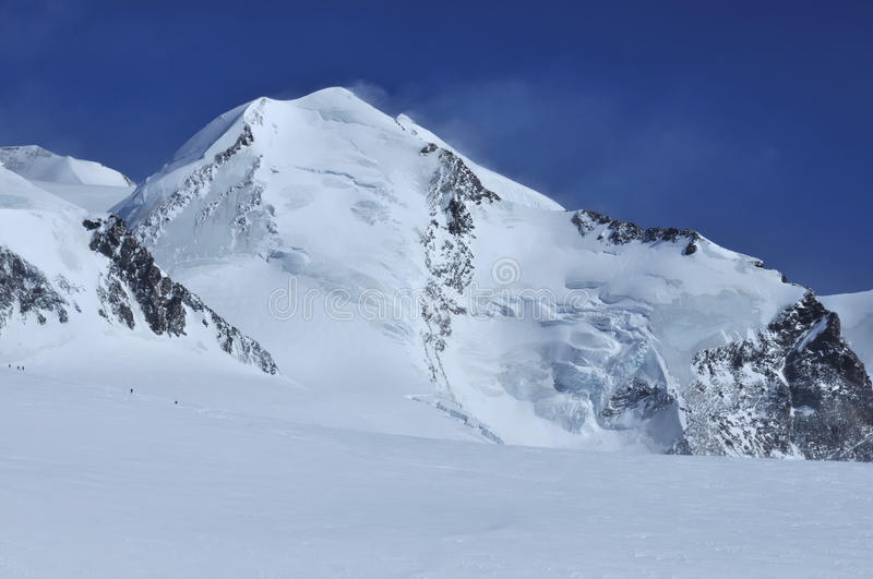 Download Climbers on Castor stock photo. Image of alpine, high - 13787590