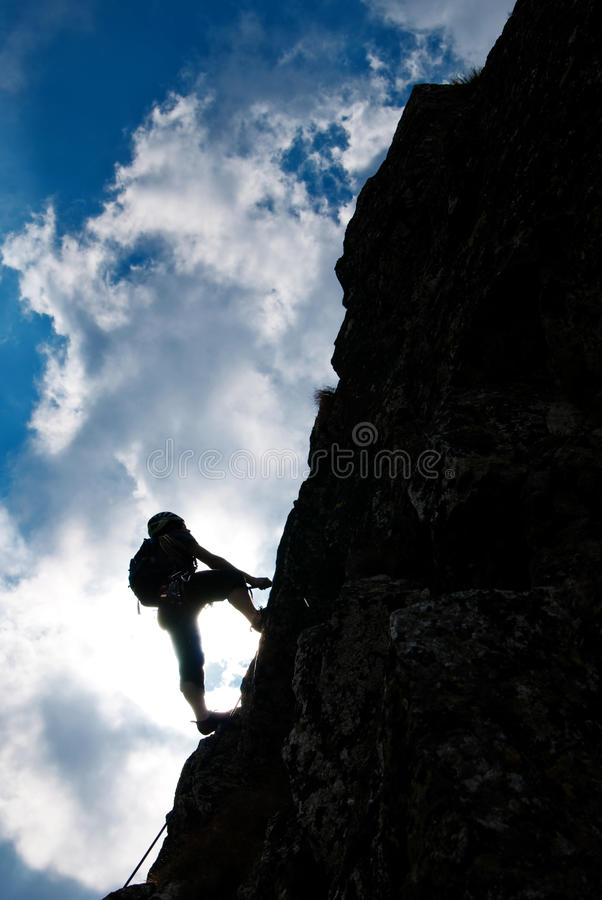 Free Climbing Royalty Free Stock Photography - 11886367