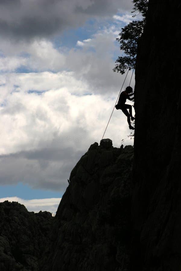 Climbing royalty free stock photos