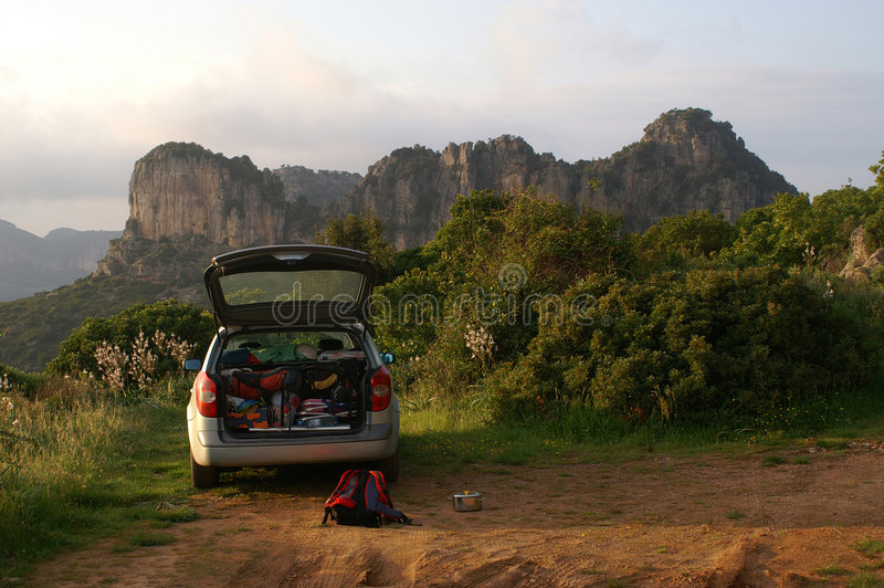 Download Climbing car stock photo. Image of camping, avesome, equipment - 1405124