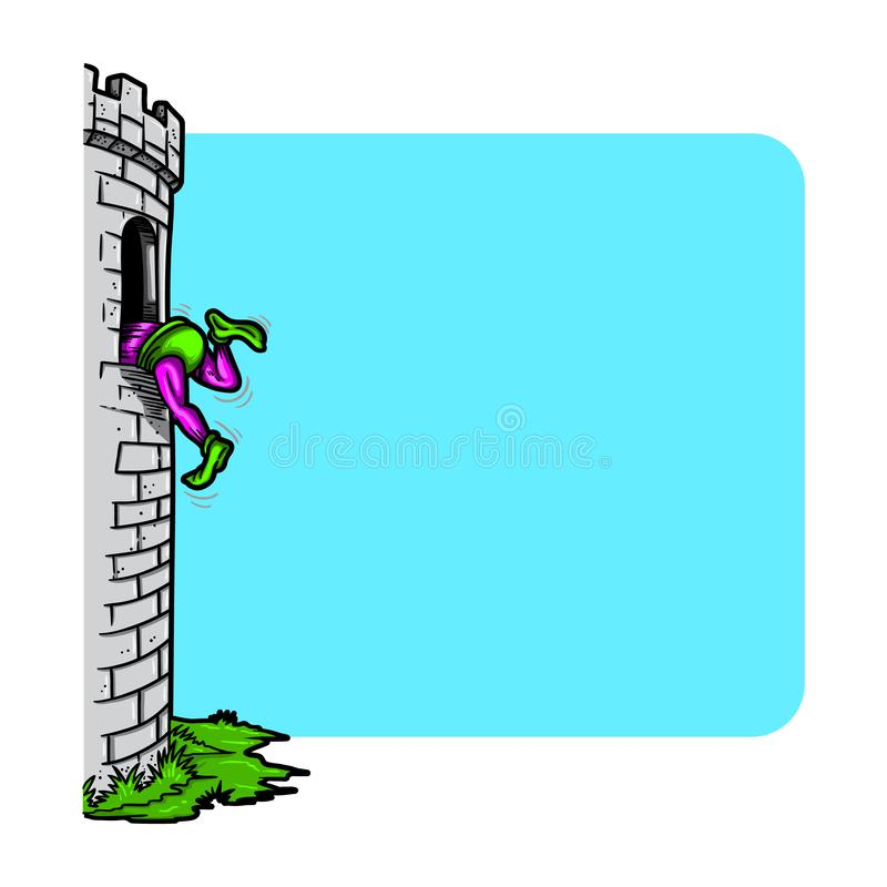 Tower Climbing Stock Illustrations 459 Tower Climbing Stock Illustrations Vectors Clipart Dreamstime