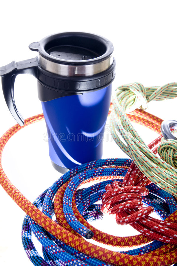 Free Climbing Gear Royalty Free Stock Photography - 8659627