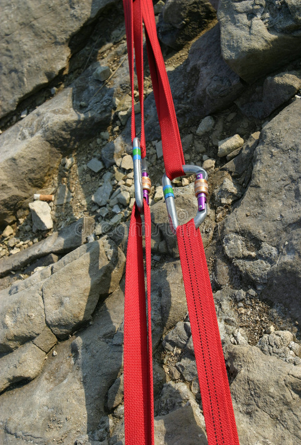 Climbing Gear royalty free stock photos