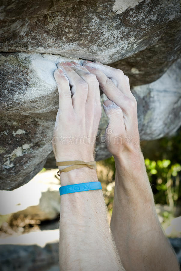 Free Climbing Hands 001 Stock Image - 10238031