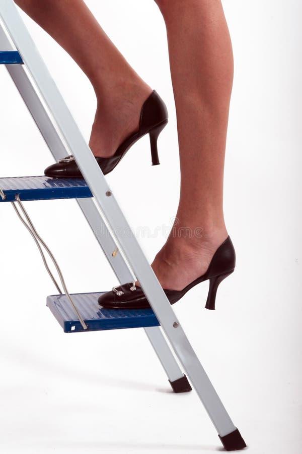 naked girls on ladders