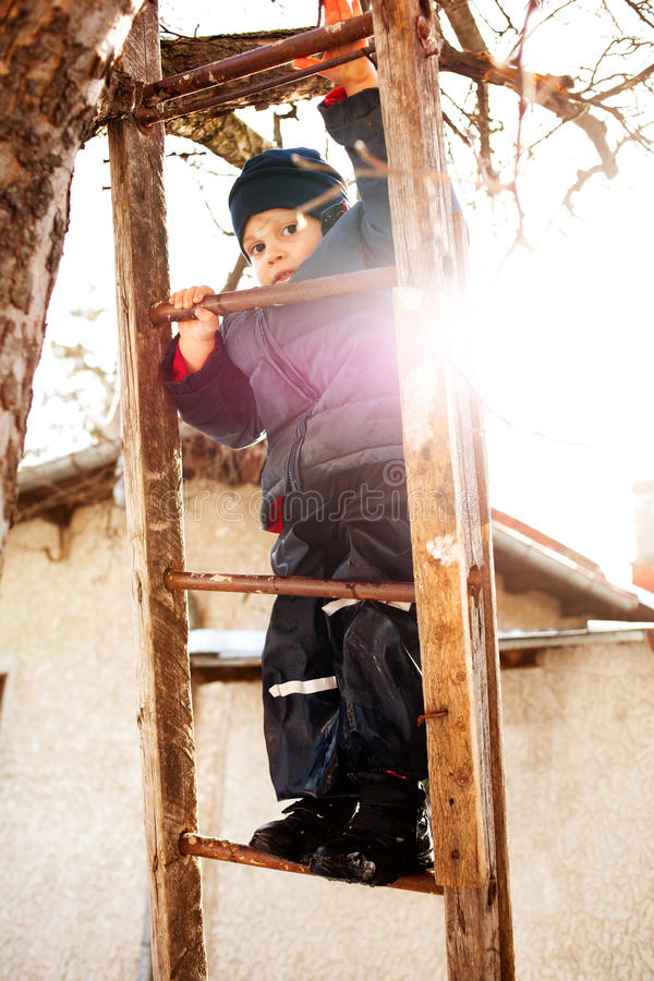 Download Climbing On Ladder Stock Images - Image: 21933164