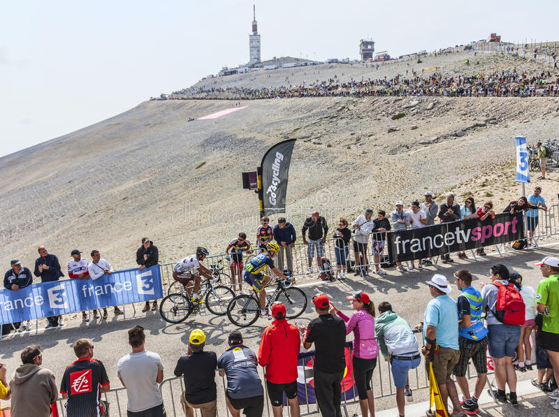 Download Climbing Mont Ventoux editorial stock image. Image of 2013 - 34508689