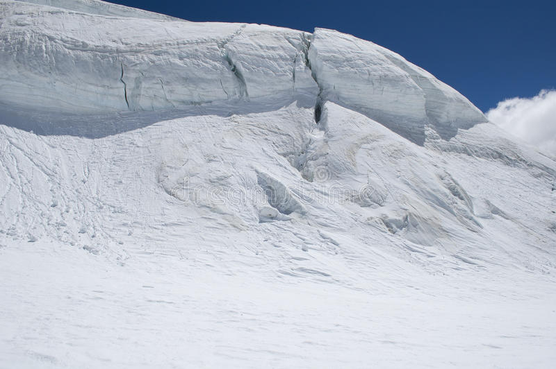 Download Climbing Panorama On Glacier Stock Image - Image: 15808413