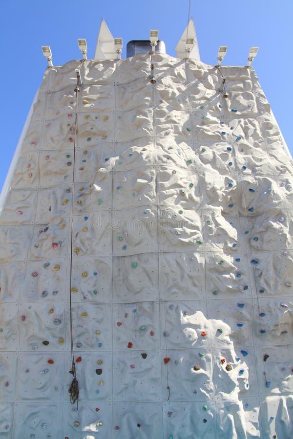 Climbing Rock Wall Stock Photos