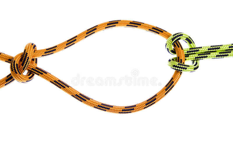 Download Climbing rope stock photo. Image of strong, isolated, hiking - 9143814