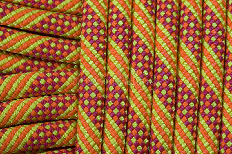 Download Climbing rope detail stock image. Image of gear, rock - 14798165