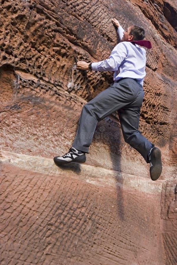 Climbing the social ladder royalty free stock photos