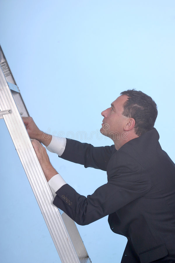 Free Climbing The Corporate Ladder Stock Photography - 1066962
