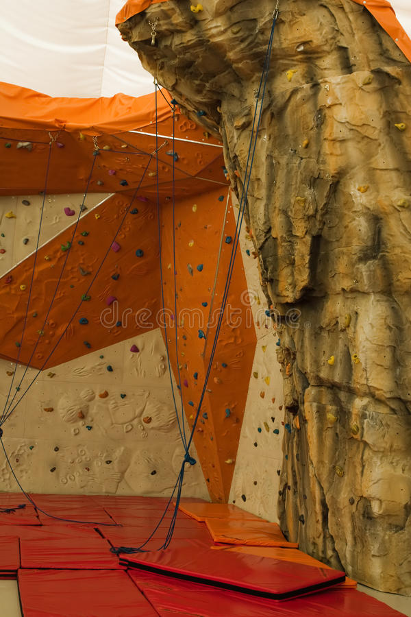 Download Climbing wall stock photo. Image of challenge, action - 11736982