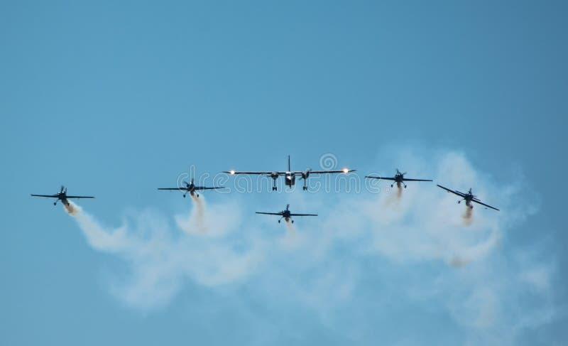 Clinceni Airshow стоковая фотография