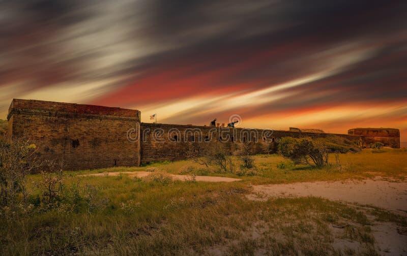 Clinch οχυρών στοκ φωτογραφία