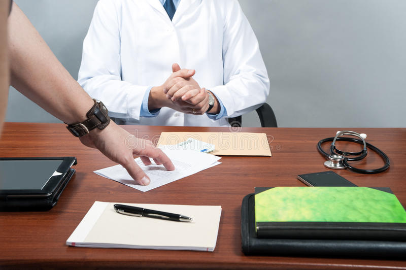 Clinic, doctor, royalty free stock images