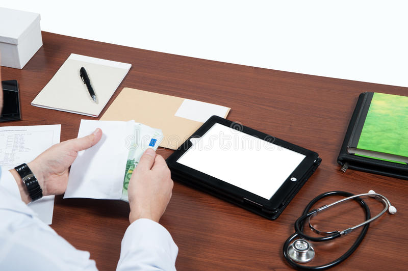 Clinic, doctor, stock image