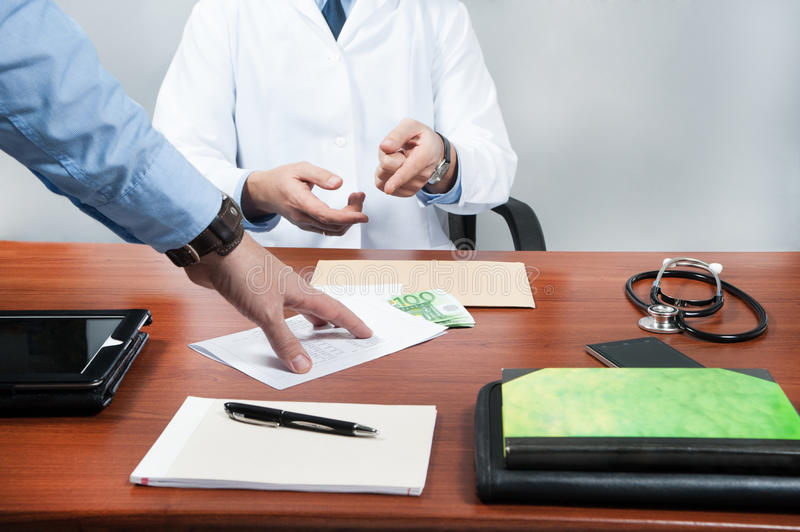 Clinic, doctor, stock photo