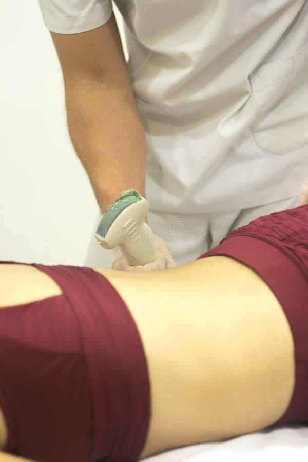 Clinica medica di fisioterapia fotografia stock