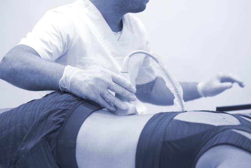 Clinica medica di fisioterapia immagini stock