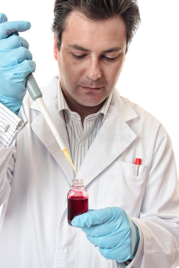 Clinical Medical Pharmaceutical Research stock image