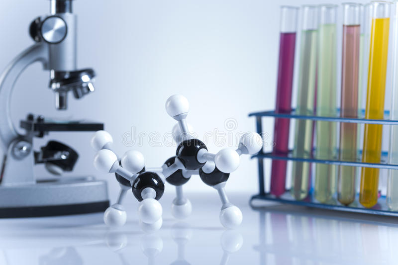 Clinical trials in the laboratory royalty free stock photography